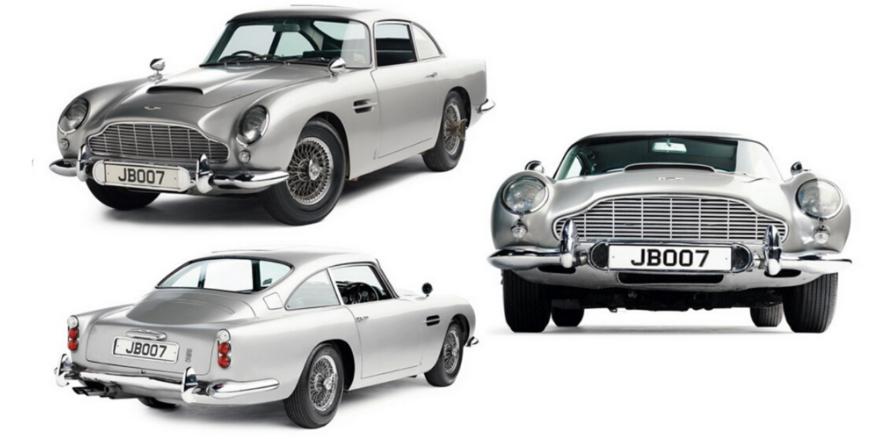 James Bond Aston Martin Art Recovery