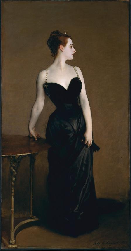 Gemälde von John Singer Sargent, Madame X (Madame Pierre Gautreau),  1884