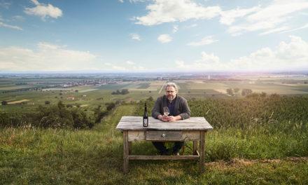 """Etikett des Monats Juli: """"Mr. Grüner Veltiner"""" Bernhard Ott"""