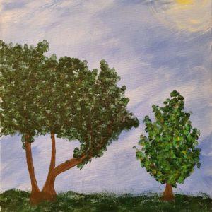 Trees Entkorkte Kunst