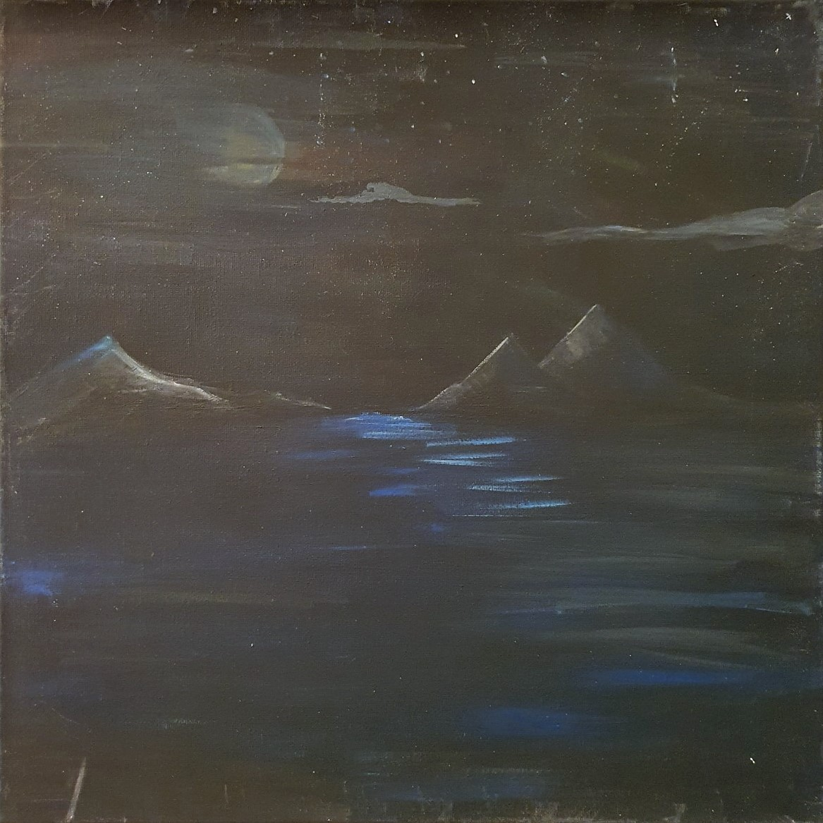 Bergnacht Entkorkte Kunst