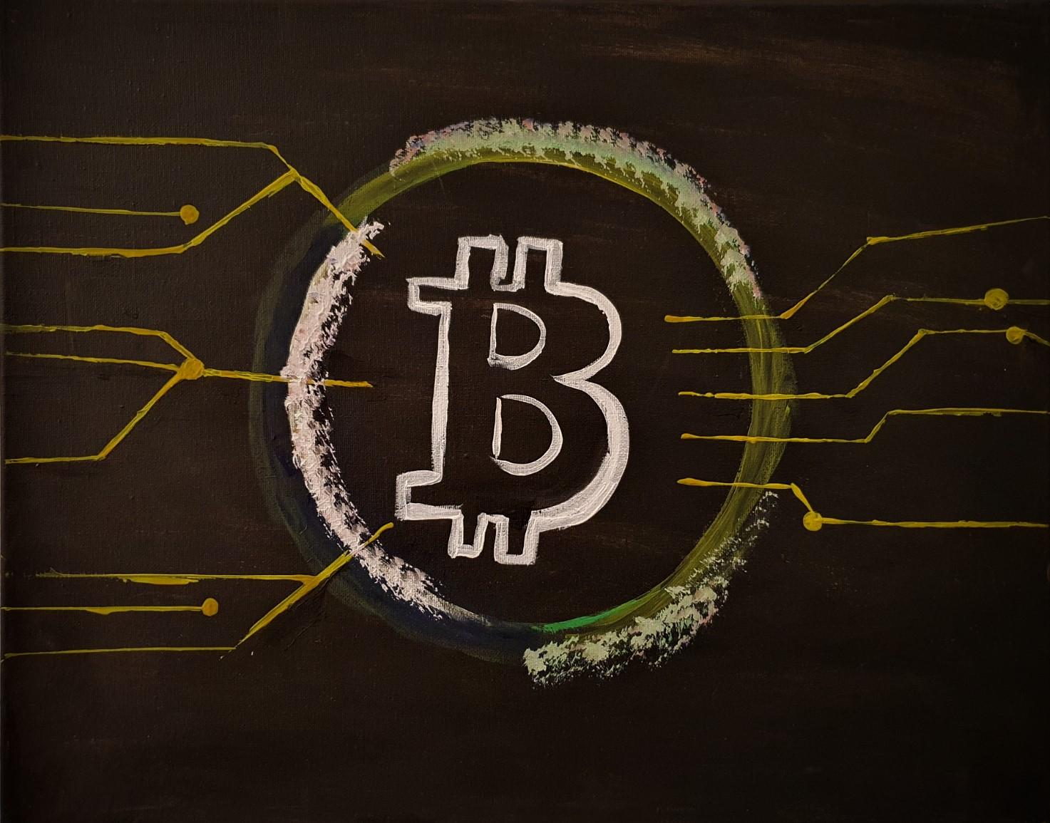 Bitcoin Entkorkte Kunst