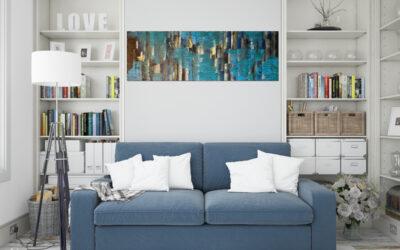 """Gemälde des Monats Juni: """"Fleeting Moment"""" von Seyran Isse"""