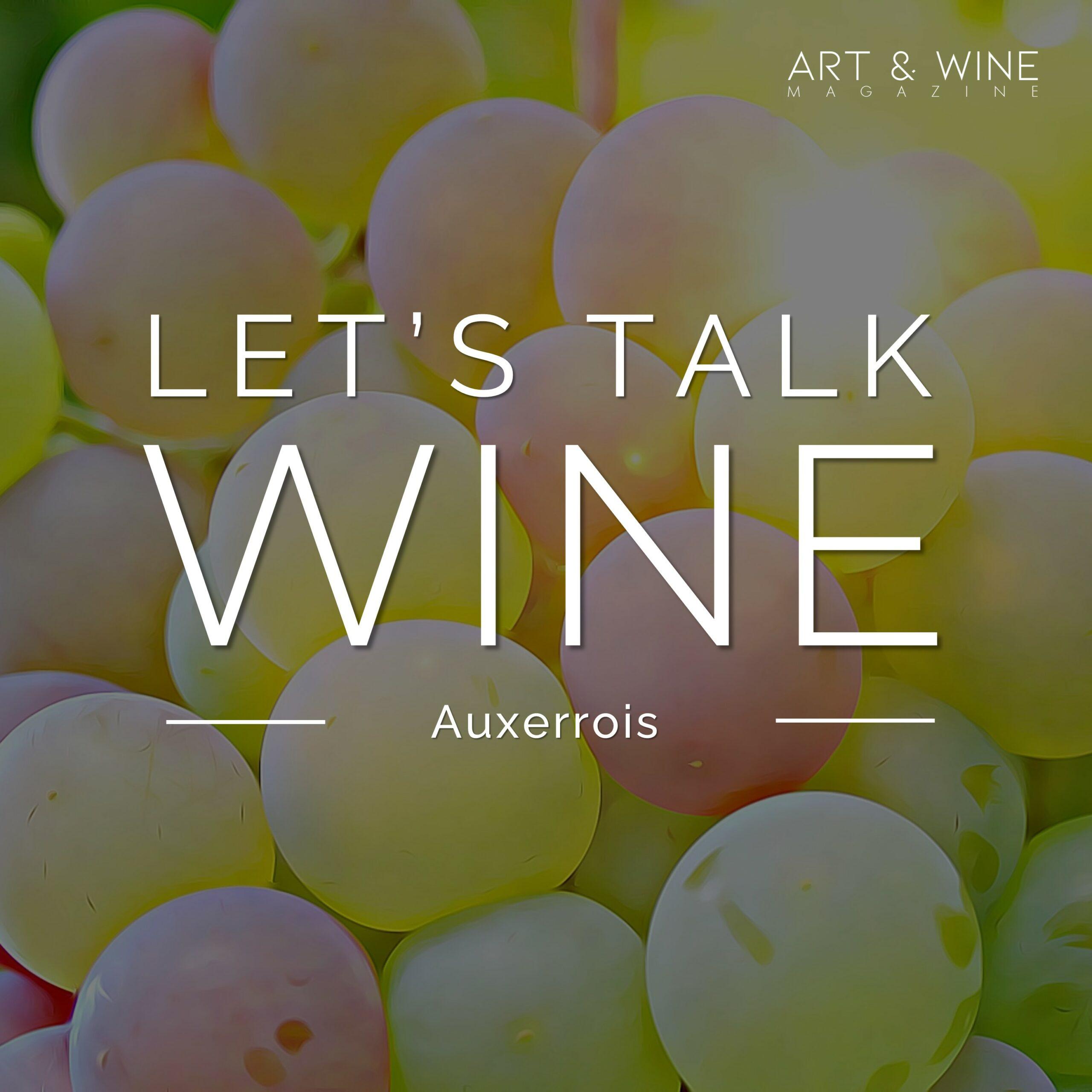 Let's talk Wine Auxerrois Jana Hauck Podcast