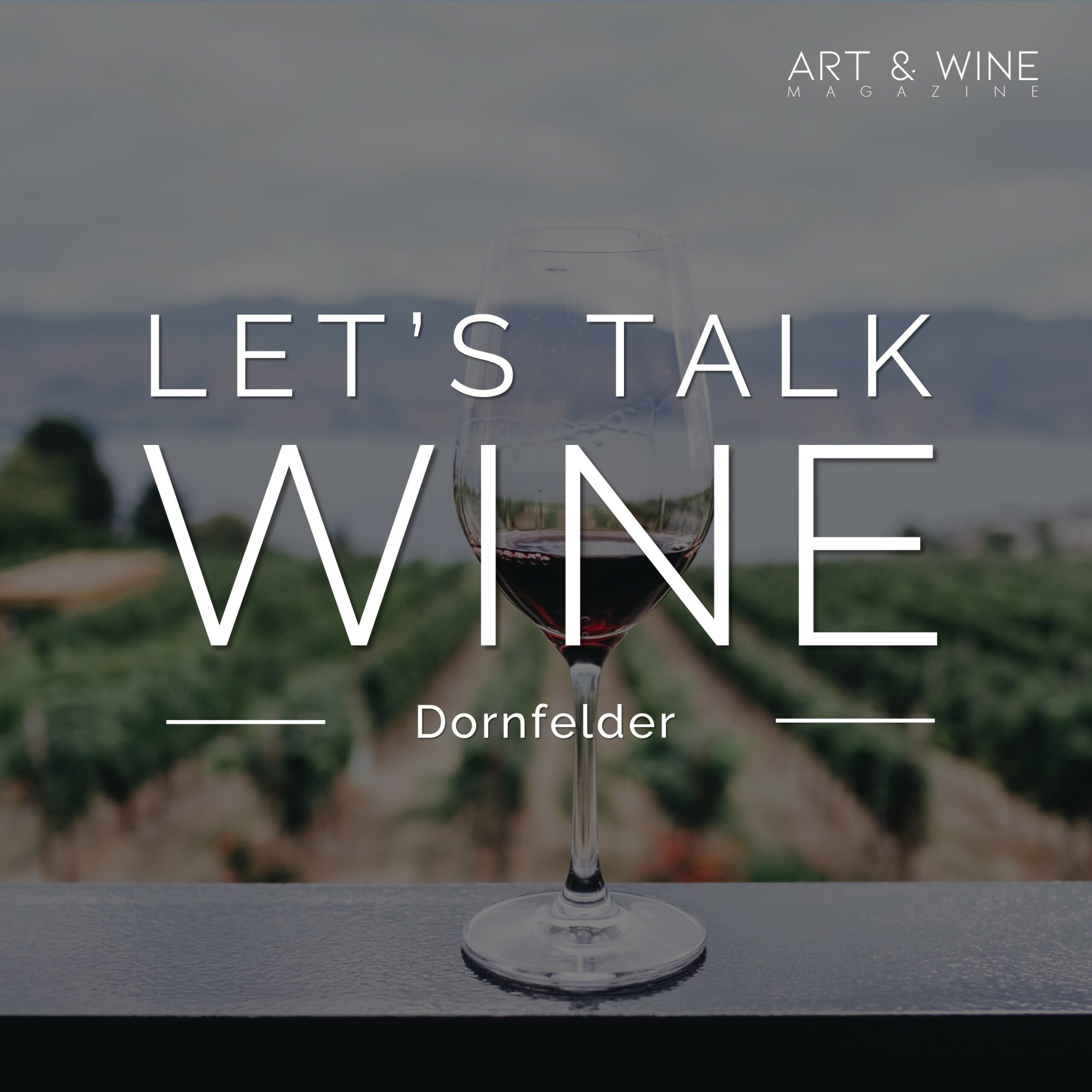 Dr. Petra Eckert Dornfelder Let's talk wine Podcast