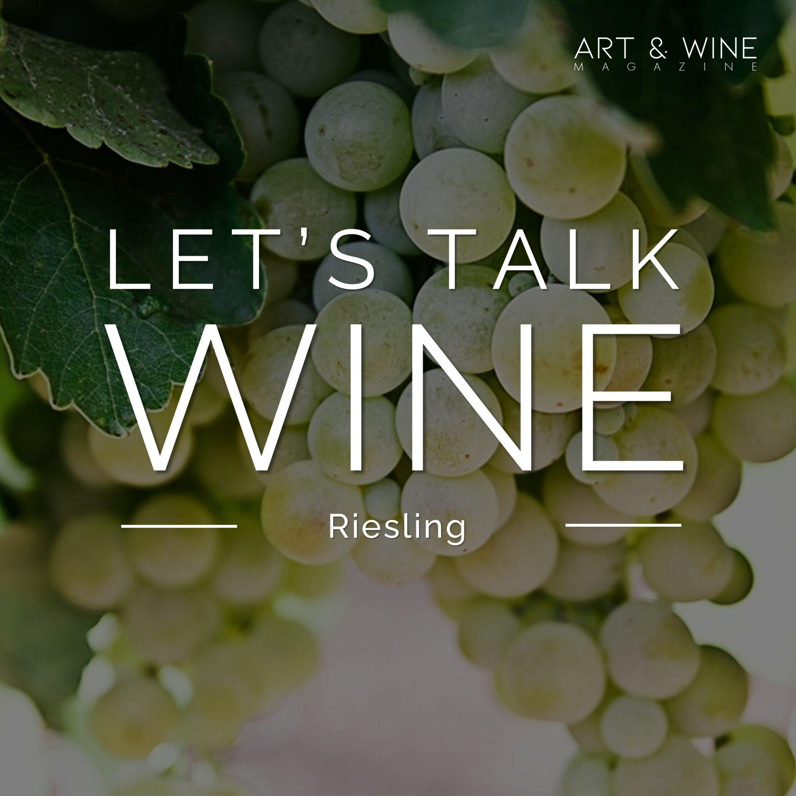 Let's talk Wine Malenka Stenner Riesling Podcast