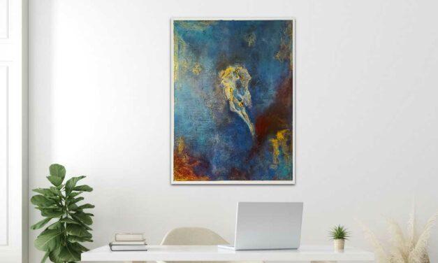 Gemälde des Monats April: Galaxy von F. Boguslaw