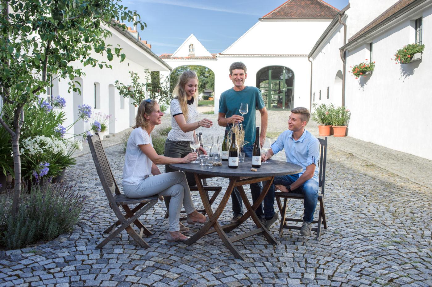 Das Weingut der Familie Fidesser