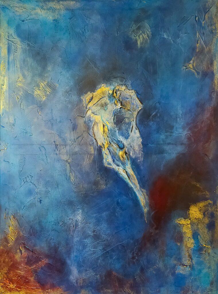 Galaxy von Künstlerin Franziska Boguslaw