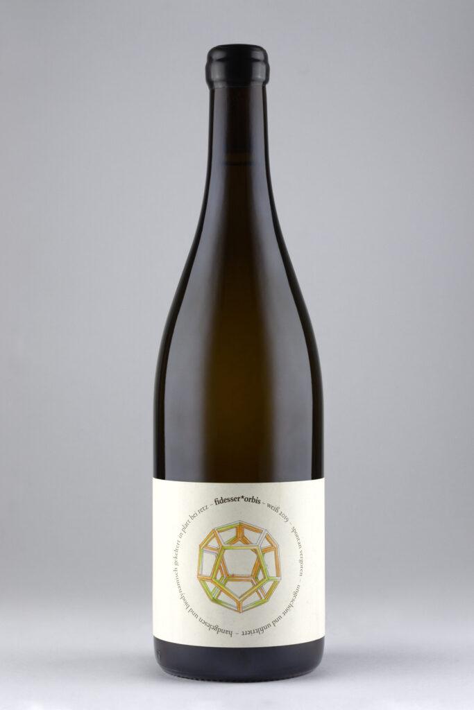 Natural Wine weiß von Weingut Fidesser der Linie fidesser*orbis
