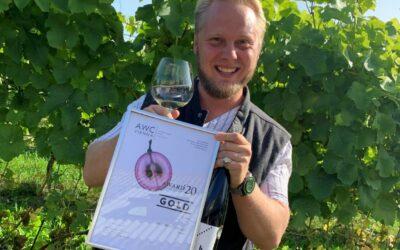 K Felix G Åhrberg pusht den Weinbau in Schweden