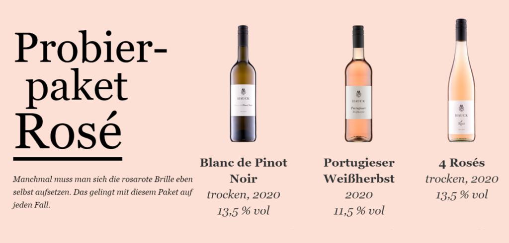 Roséweine zählen zu den Wein Trends 2021 vor allem die von Jungwinzerin Jana Hauck vom Weingut Hauck