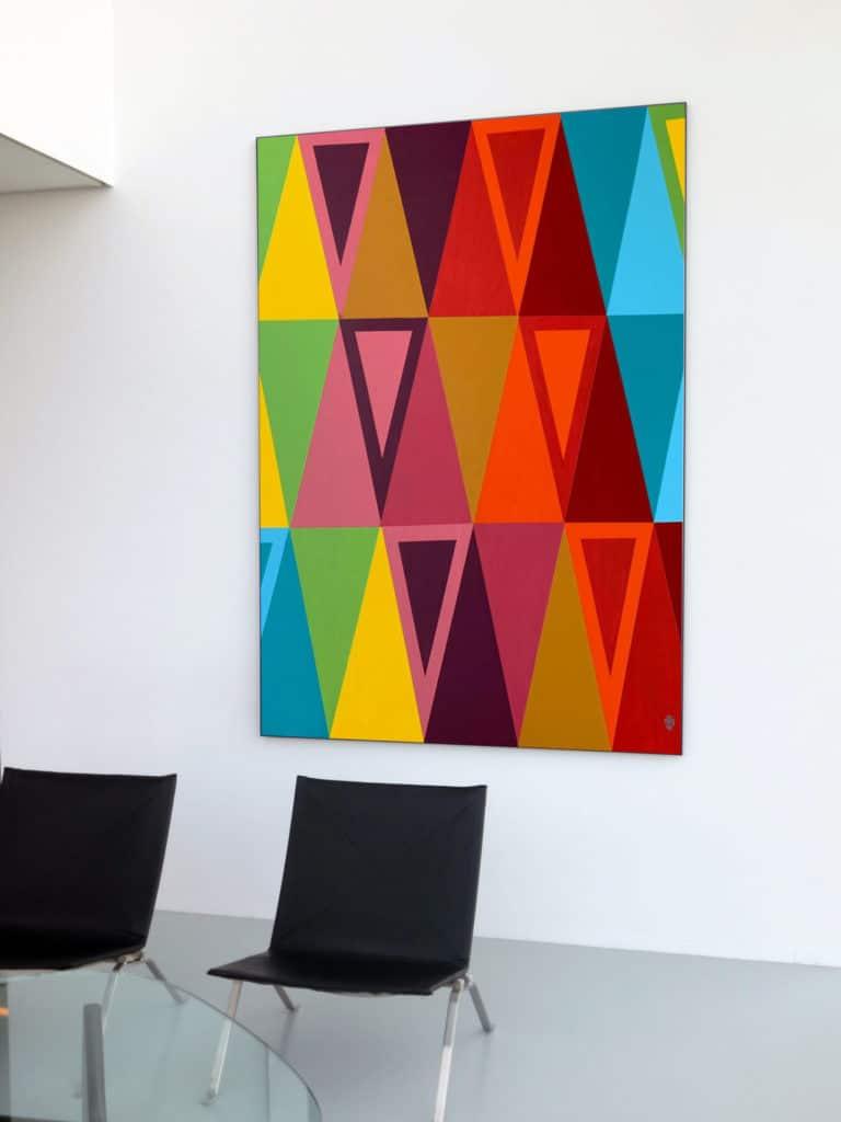 Kunstwerk von Mariela Santillan Riethmüller im Office