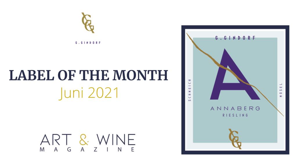 Das Label of the month des Monats Juni von Weingut Günter Gindorf
