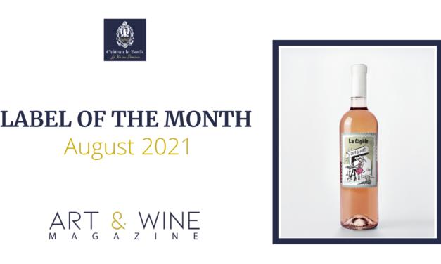Etikett des Monats August: La Cigale